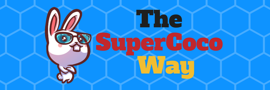 The SuperCoco way banner