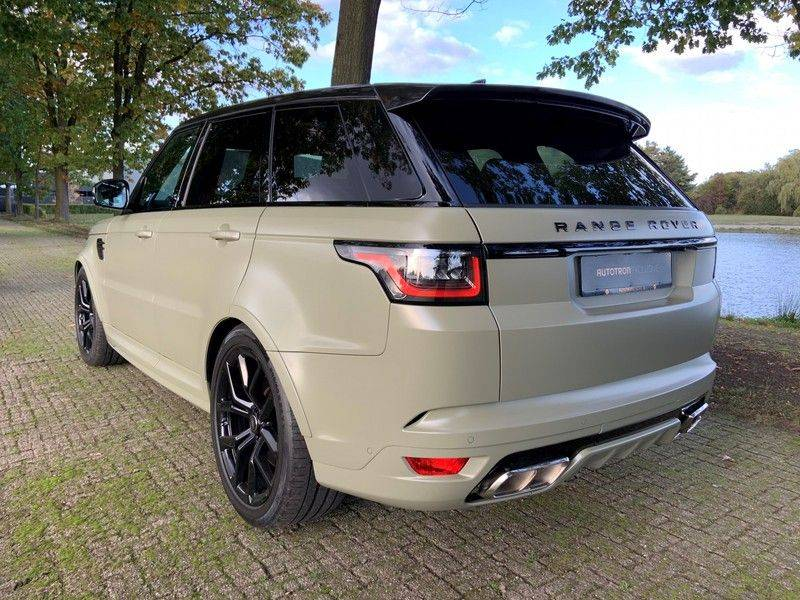 "Land Rover Range Rover Sport P575 SVR 'Solid Gloss Avocado' Carbon SVR motorkap + Drive Pro Pack + Panoramadak + 22"" + Stoelkoeling + Head-Up + Stuurwielverwarming + Carbon interieur afbeelding 10"