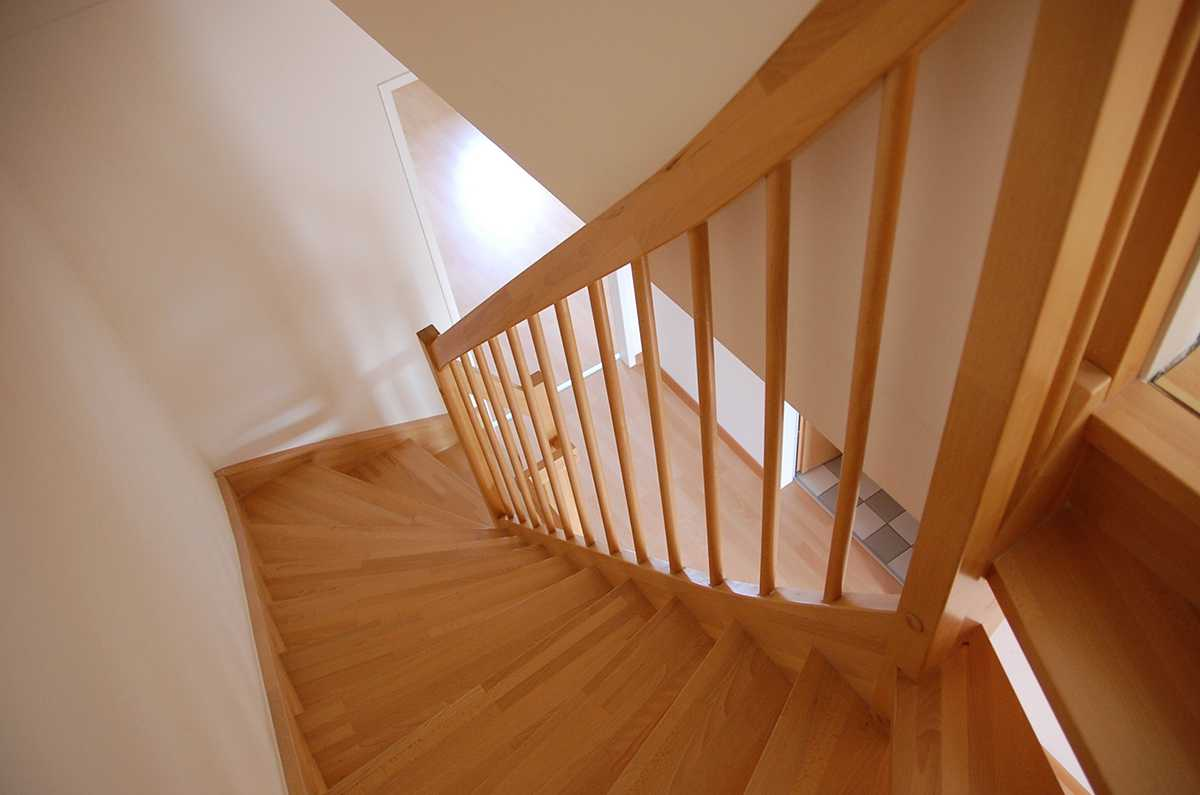 Photo of winder stairs