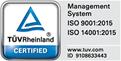 ISO 9001:2015 & ISO 14001:2015