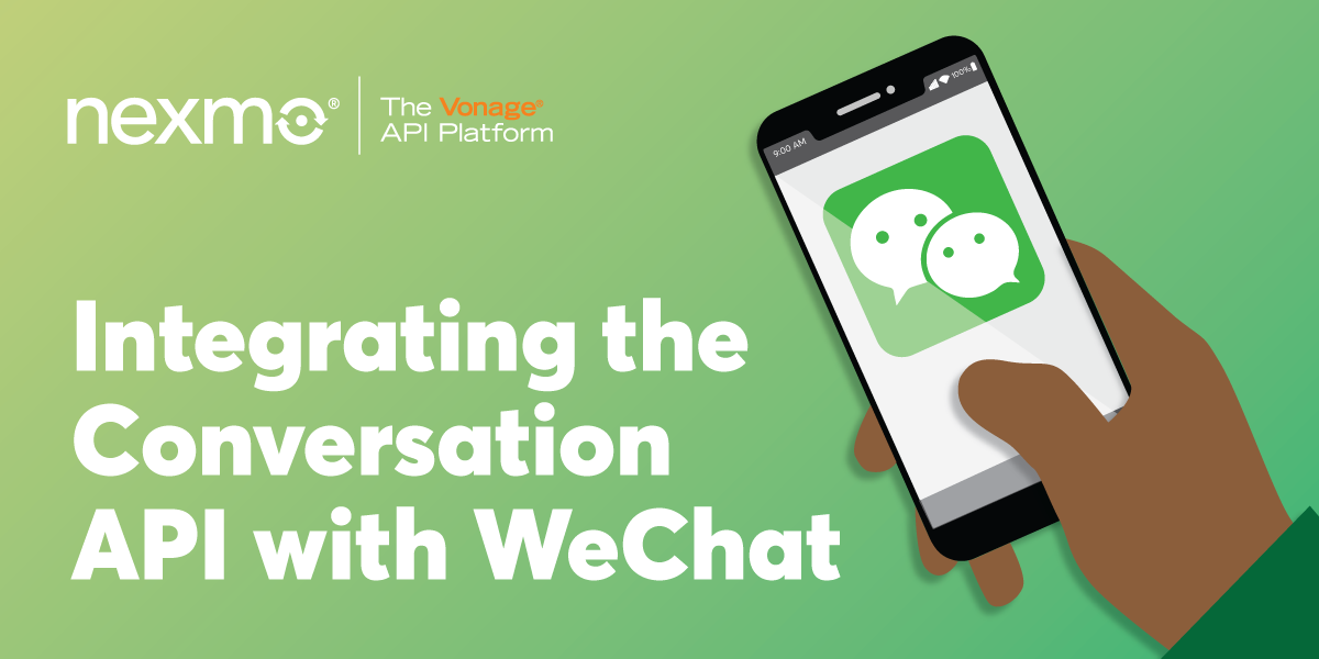 Integrating the Conversation API with WeChat