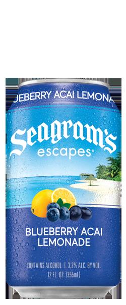 Blueberry Acai Lemonade Bottle