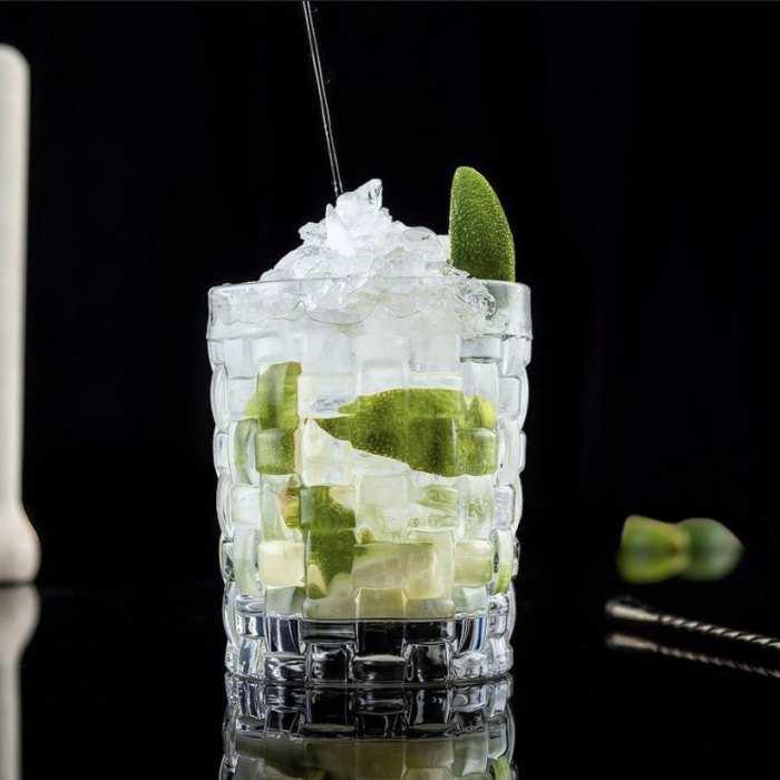 Elderflower Caipirinha Cocktail