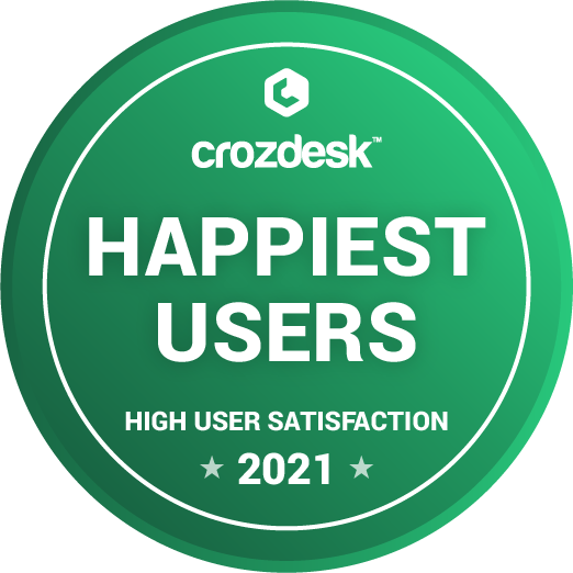 Parseur.com has the happiest users badge on Crozdesk