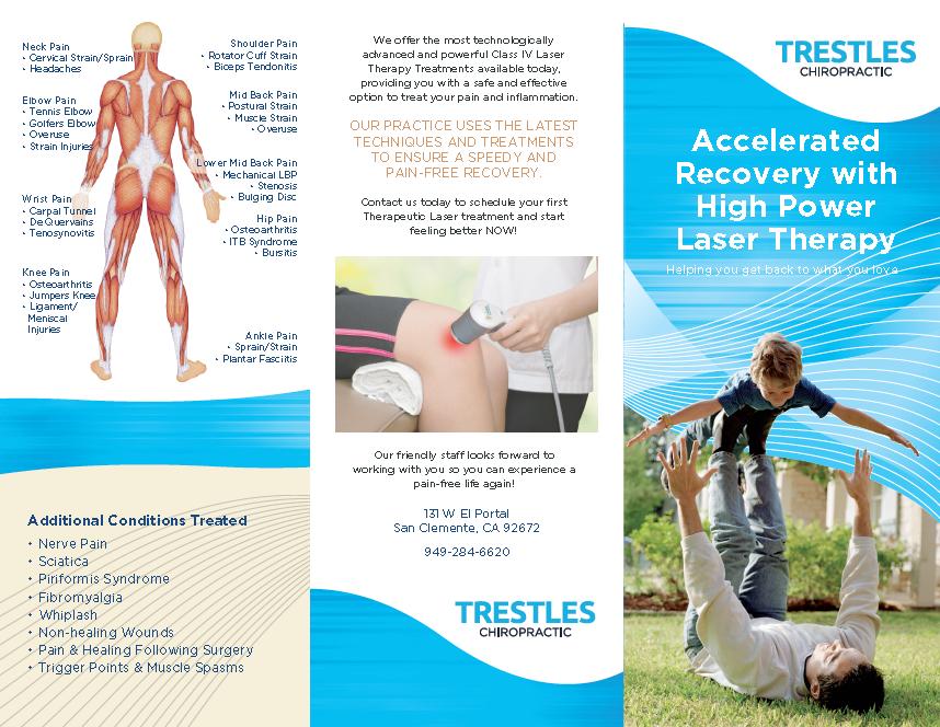 Laser Brochure cover
