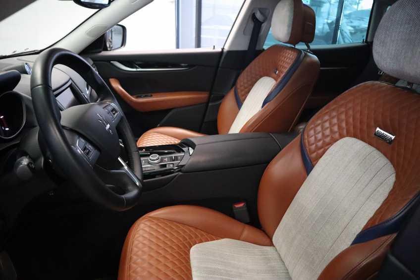 """Maserati Levante 3.0 V6 D AWD STARTECH UNIEK! Panoramadak Diamond Leder Xenon 21""""LM 275 PK! *tot 24 maanden garantie (*vraag naar de voorwaarden) afbeelding 18"""