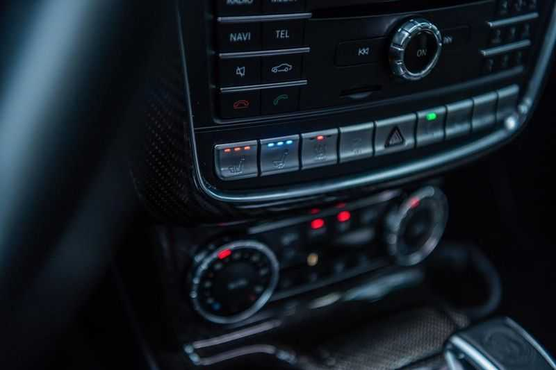 Mercedes-Benz G-Klasse 63 AMG, 571 PK, Full/Black Optiek, Schuif/-Kanteldak, TV, Harman/Kardon, Designo leder, Distronic, 57DKM!!! afbeelding 12