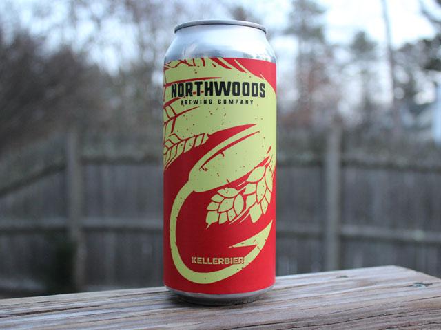 Kellerbier, a Kellerbier brewed by Northwoods Brewing Company
