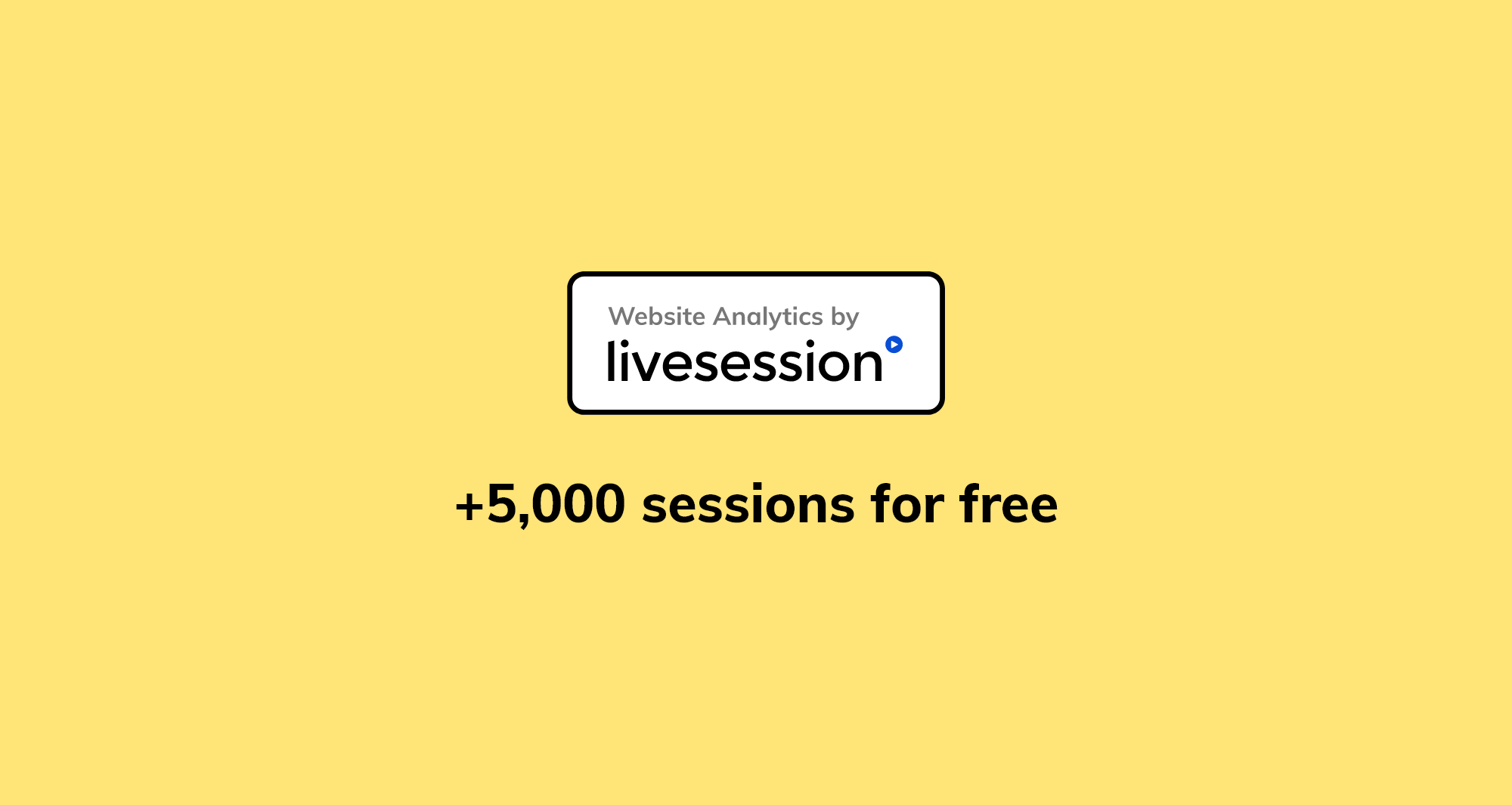 LiveSession badge