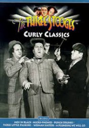 cover The Three Stooges: Curly Classics