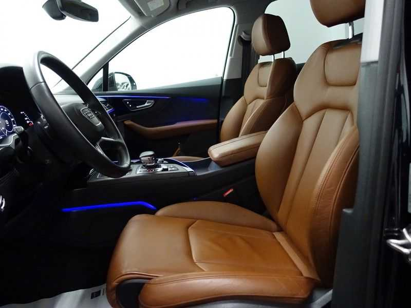 Audi Q7 3.0 TDI e-tron 374pk Quattro S-Line Autom- Bose, Virtual Cockpit, 360 Camera, Park Assist, Leer afbeelding 23