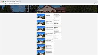Web Site  of Parish of St. Vitus - Petruševec, Zagreb