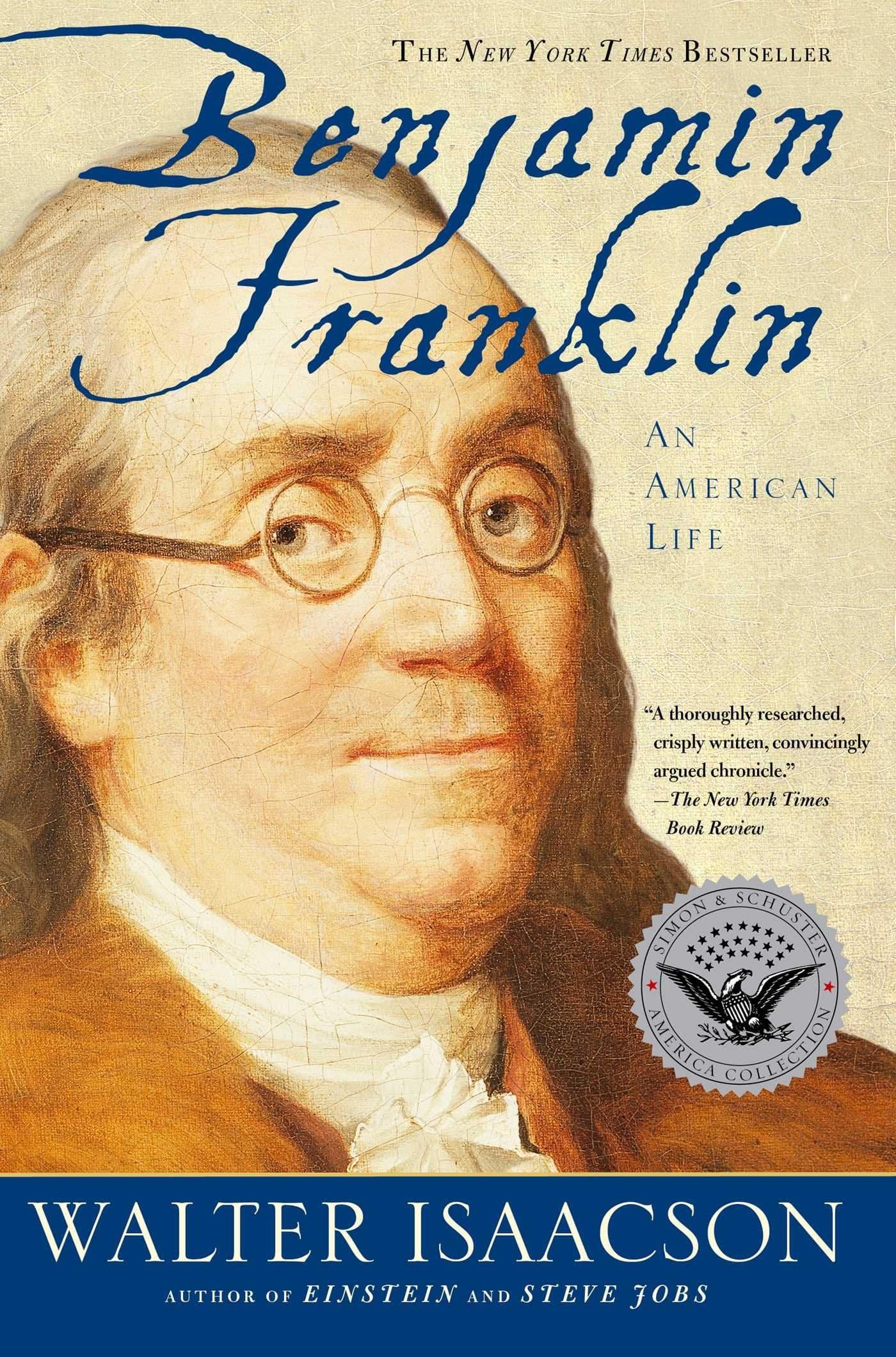 The cover of Benjamin Franklin