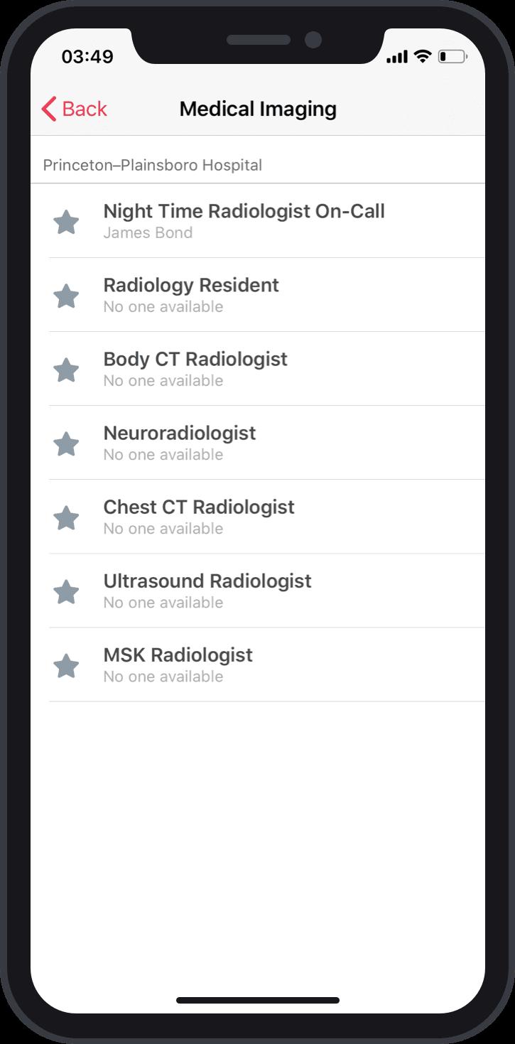 Schedule Management Mobile Screenshot