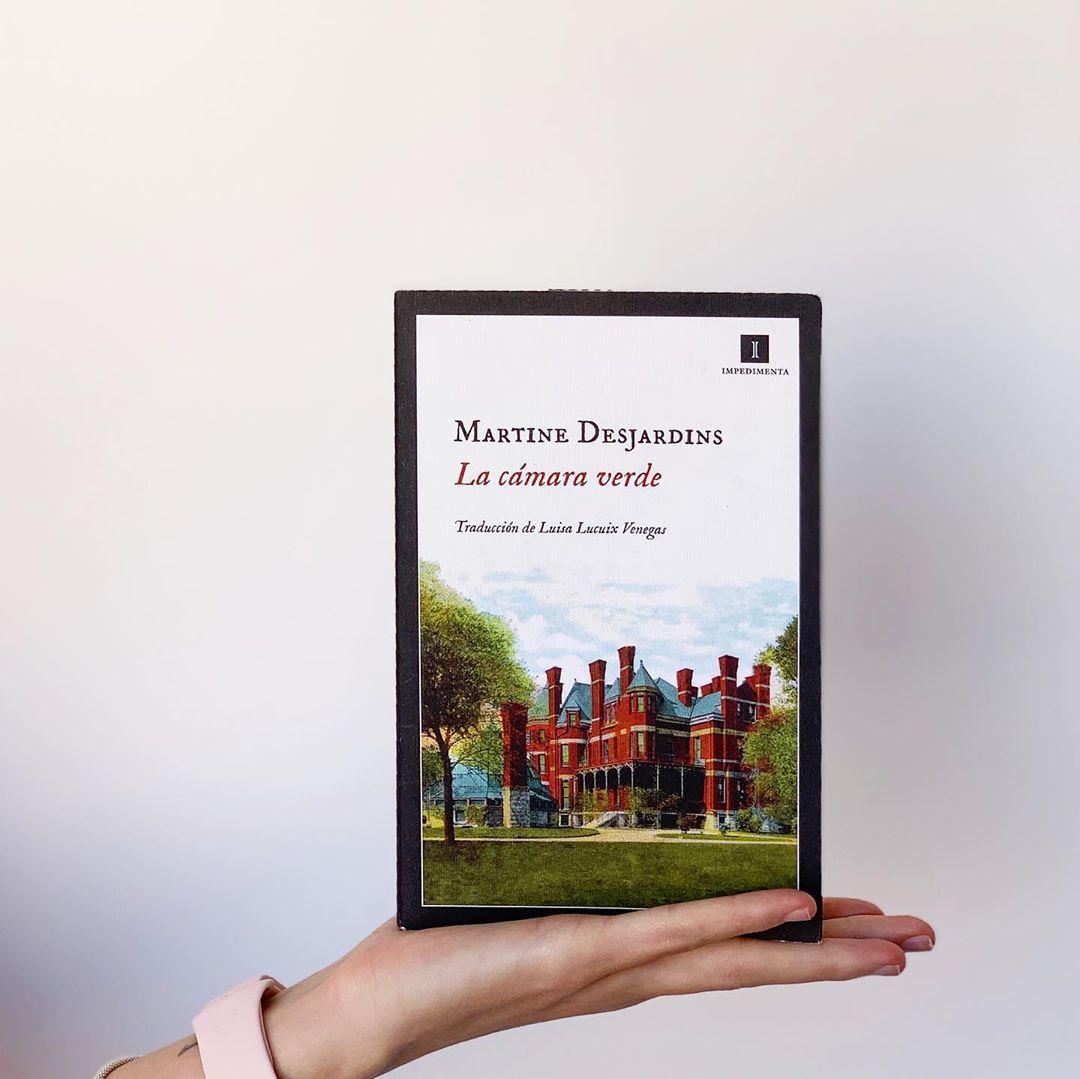 """Imagen de Reseña de """"La cámara verde"""", de Martine Desjardins"""