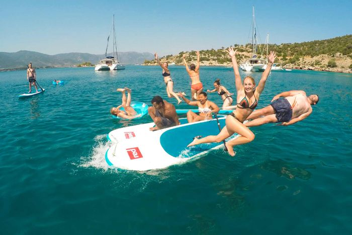 Paddleboarding Montenegro