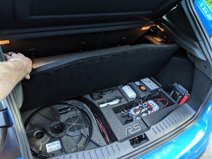 Air Management Installed in the Trunk