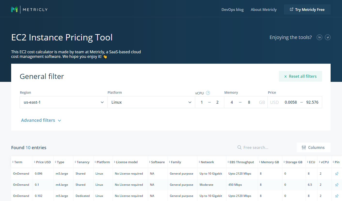 EC2 Instance Pricing—4 Ways to Find The Instance You Need