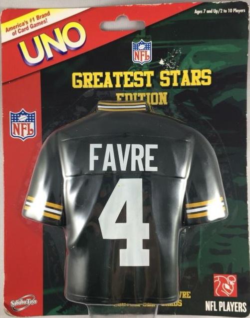 NFL Greatest Stars: Brett Favre Uno