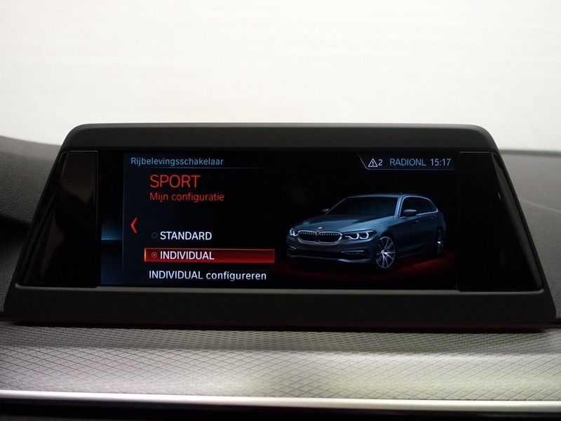 BMW 5 Serie Touring 520i High Exe 210pk M- Perfomance Powerkit- Pano, Leer, Full afbeelding 12