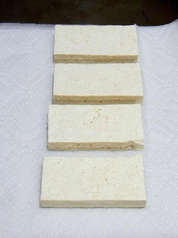 Pressing Tofu: Done