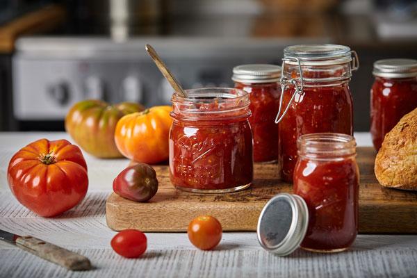 Sweet and Savoury Tomato Jam