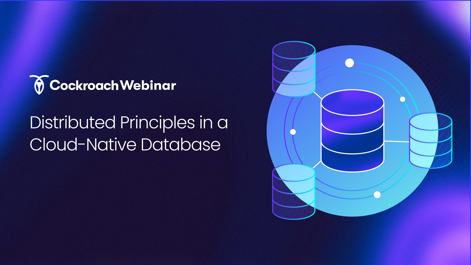 Distributed Principles in a Cloud-Native Database -- EMEA