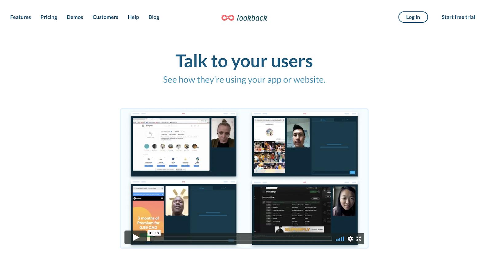 Lookback as a UX research toolbox