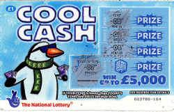 Cool Cash Scratch Card