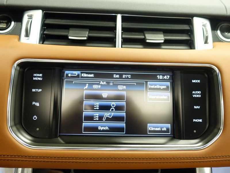 Land Rover Range Rover Sport 3.0 TDV6 259pk HSE Dynamic 7pers- Panoramadak, Leer, Softclose, Full afbeelding 11