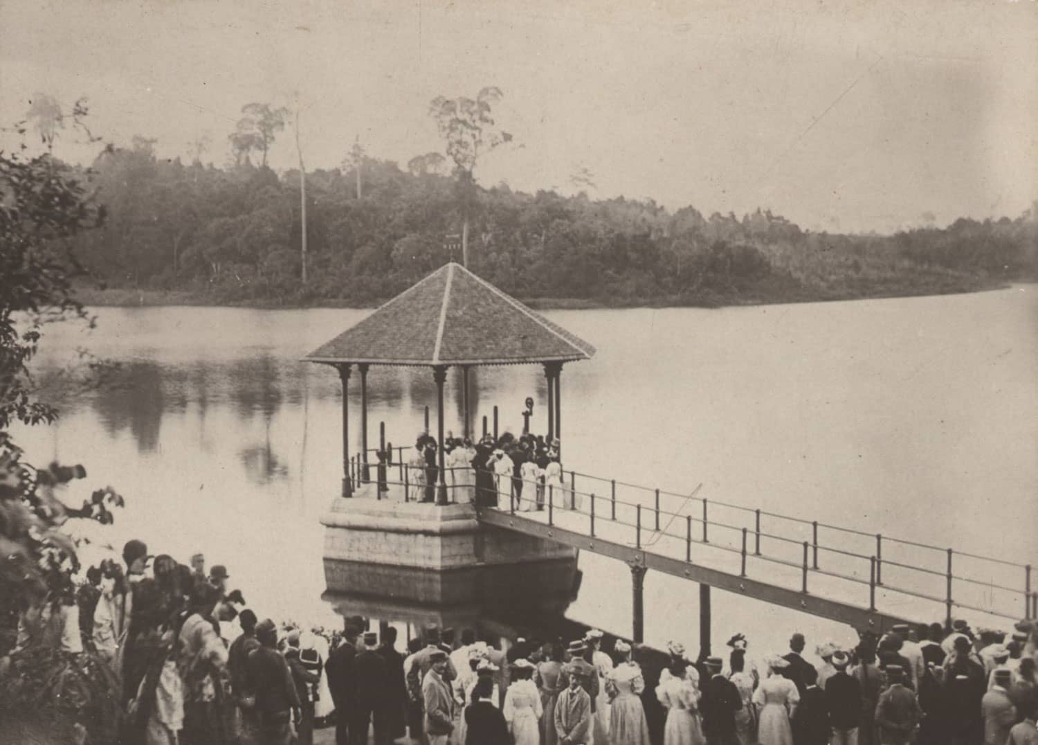 Thomson Road Reservoir, 1907