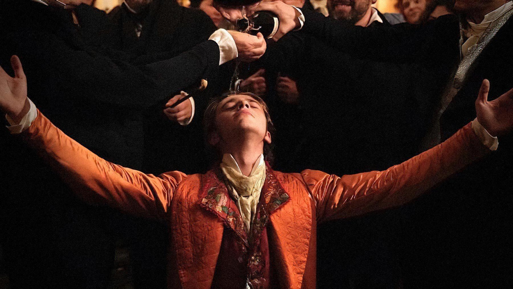 Кадр со съемок «Человеческой комедии». Режиссер Ксавье Джанноли, 2021 год / imdb.com