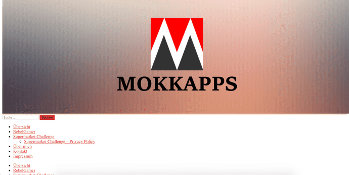 First website iteration