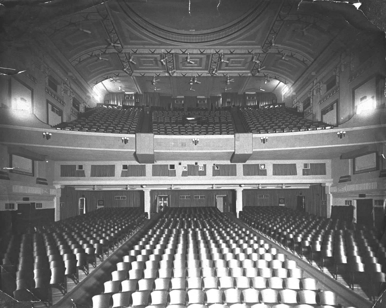 Interior of Capitol Theatre, 1930