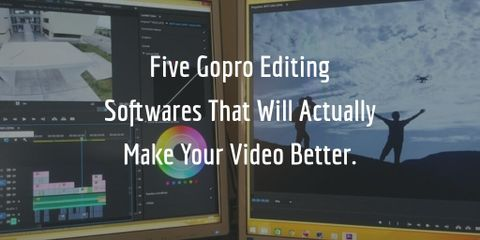 You don't want to spend $400+ on editing software for casual GoPro videos editing. We have shortlisted five good options for you.