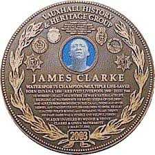 Black History Month - Celebration of a courageous local hero James Clarke 1886-1946, who saved a man from drowning in West Waterloo Dock