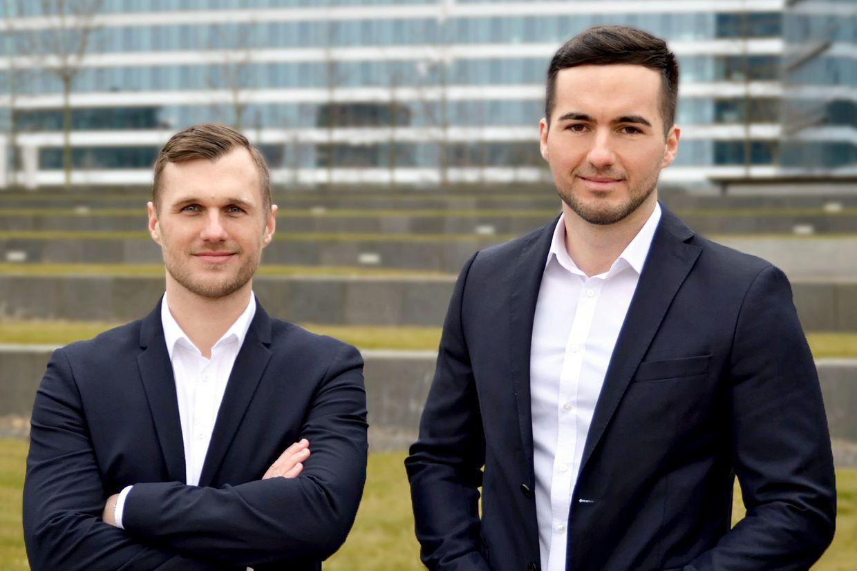 Patrick Bärje und Dino Hasanovic