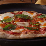 Thin-Crust Margherita Pizza
