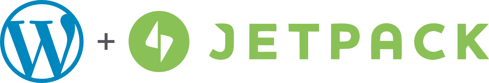 WordPress.com plus Jetpack logos