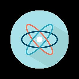 Spinning Neutron Logo
