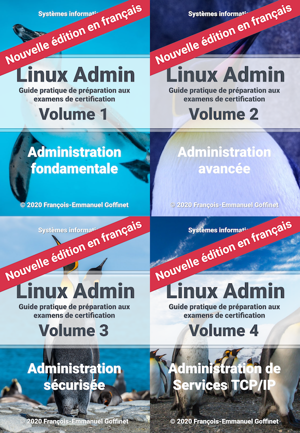 PDF Guide Linux Administration Complet (ebook)