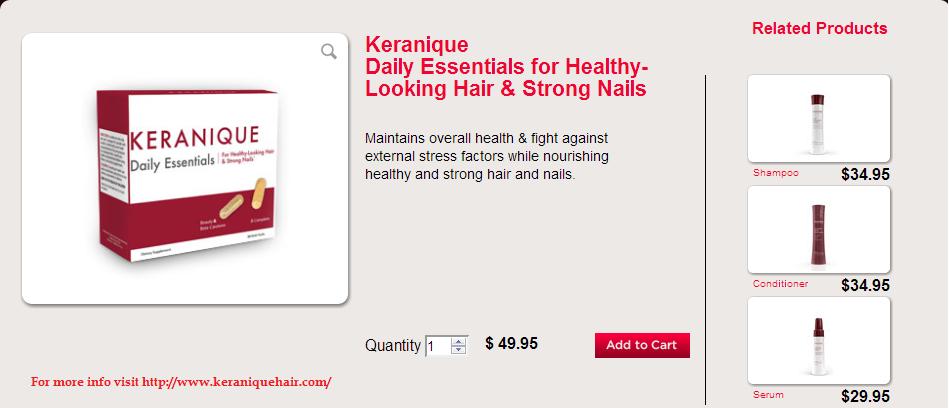 Keranique Hair Products Reviews