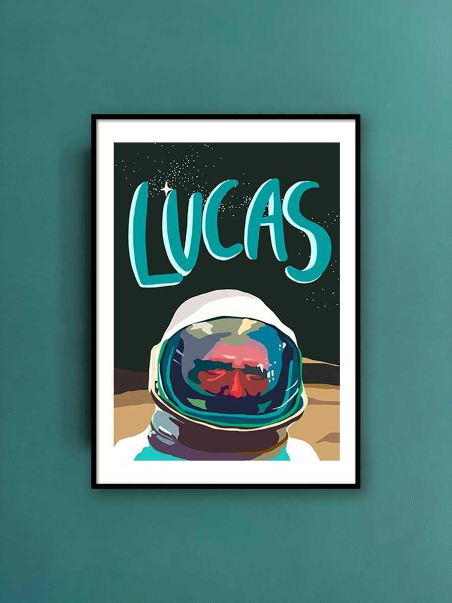 personalised-print-astronaut