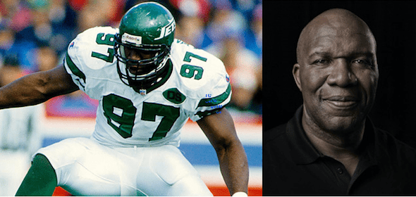 NFL star Marvin Washington on cannabis and pain relief
