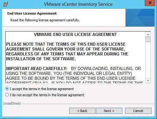 vCenter 5.5 on Windows Server 2012 R2 with SQL Server 2014 – Part 3 - 23