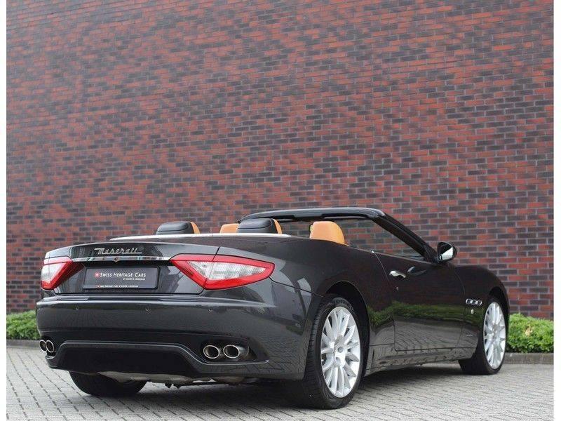 Maserati GranCabrio 4.7S *Grigio Maratta*Bose*Nieuwstaat!* afbeelding 7