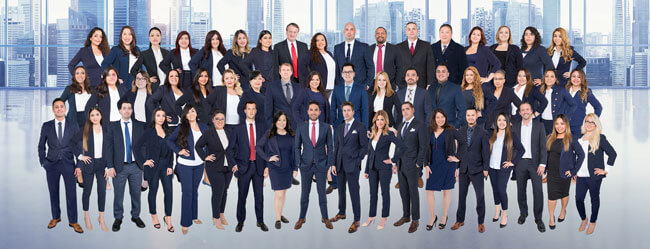 The award-winning team of Wilshire Law Firm legal professionals