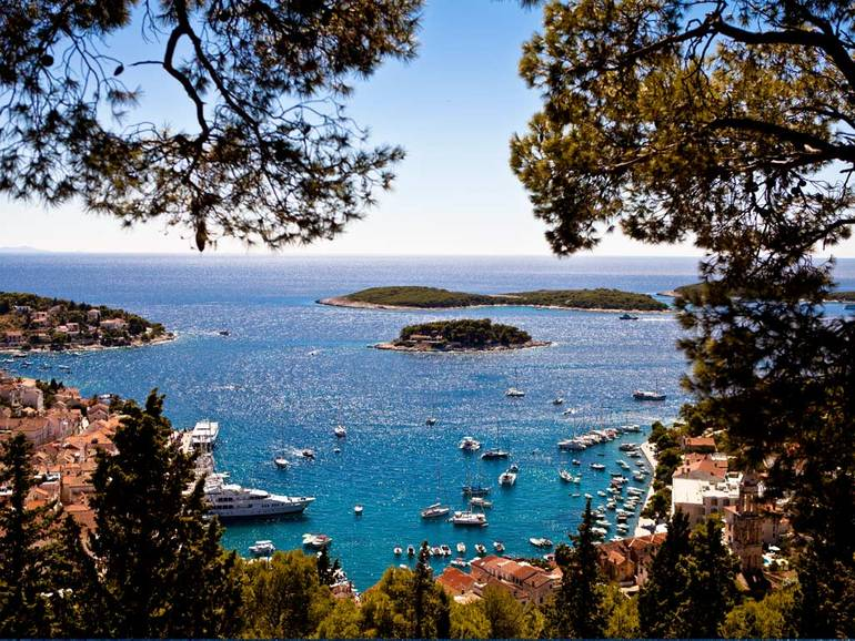 Croatia Sailing And Enjoying The Nightlife On Hvar