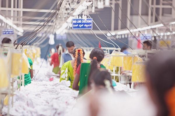 bulk garment manufacturing process