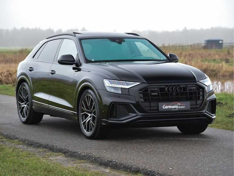 Audi Q8 50TDI 286pk Quattro S-Line Black Optic Lucht RS-zetels B&O High-end Alcant.Hemel TV Head-Up Standk ALLE OPTIES! afbeelding 17